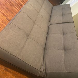 Gray Futon And Chair for Sale in Seattle, WA