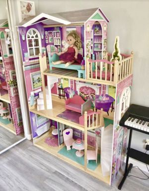 """KidKraft 18"""" Dollhouse Doll Manor 👑 for Sale in Mission Viejo, CA"""