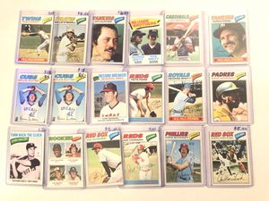 1977 Topps Baseball Cards for Sale in Hamilton Township, NJ