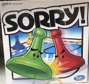 Sorry Board Game for Sale in Baytown, TX
