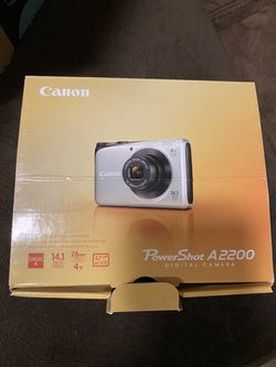 Digital Cannon PowerShot camera model A2200 for Sale in Manassas,  VA