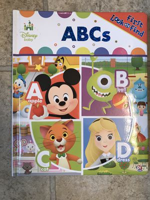 Disney ABC Toddler Learning Book for Sale in Mt. Juliet, TN
