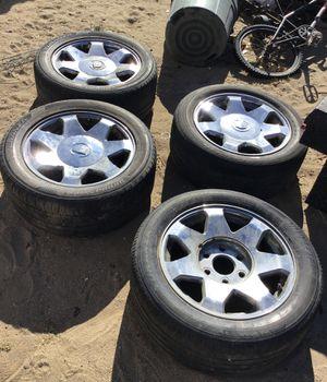 """17""""chrome rims 245/50r17 99v for Sale in Phelan, CA"""