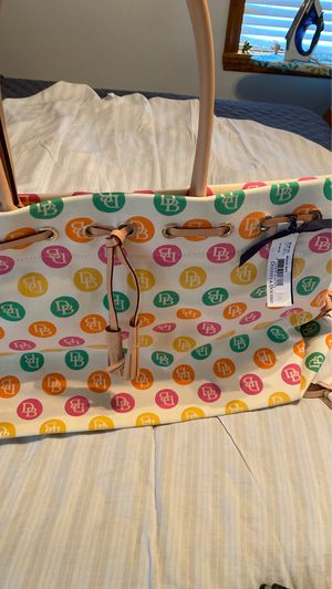 New unused beach bag or diaper bag Authentic D&B for Sale in Irwin, PA