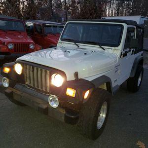 2000 Jeep Wrangler Sport 4x4 for Sale in Ashland, MA