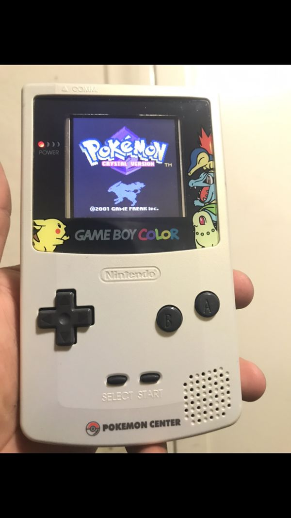 Gameboy Color Limited Pokémon Center Edition Japan Exclusive (Very Good Condition!)