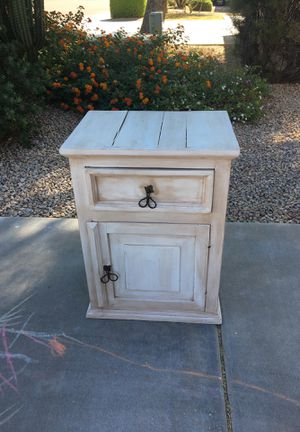 Made in Mexico end table or night stand for Sale in Phoenix, AZ