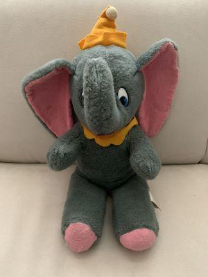 "Vintage Walt Disney Dumbo Plush Stuffed Animal, 16"" sitting for Sale in Bellevue, WA"