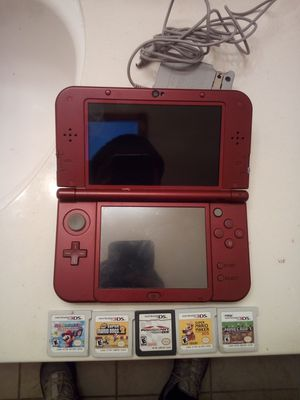 Nintendo 3DS +4Mario Games for Sale in Antioch, CA