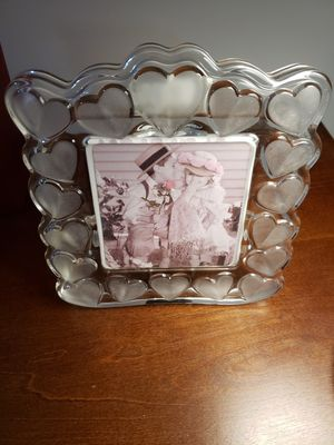 Glass shaped picture frame for Sale in Mundelein, IL