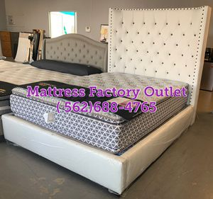 Queen Custom Bed frame starting at $599 for Sale in Paramount, CA