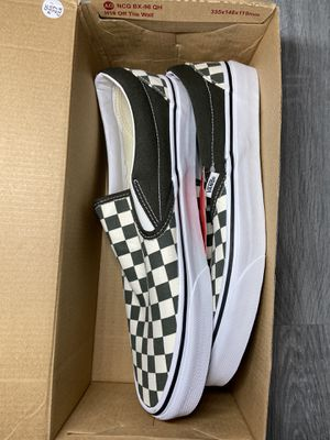 Checkered vans for Sale in Compton, CA