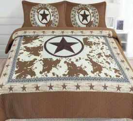 King 3 PC Quilt Set for Sale in Mesquite,  TX