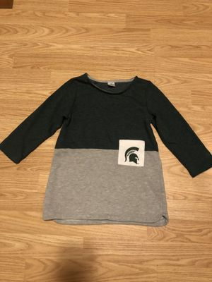 Girl's New MSU Dress Size 5T for Sale in East Lansing, MI