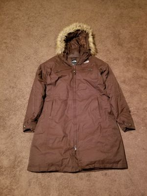 North Face Brown XL Womens Coat for Sale in Riverside, PA