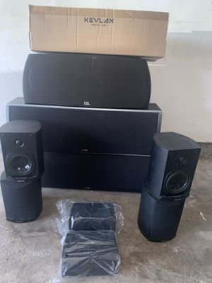Surround sounds speakers 🔊 for Sale in Houston, TX
