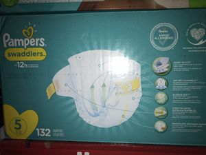 Pampers size 5 for Sale in Newark, NJ