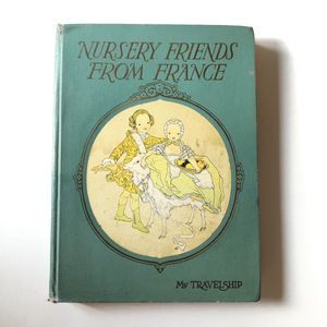 First Edition 1925 Nursery Friends from France book for Sale in San Diego, CA