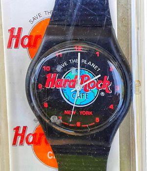 Vintage Hard Rock Cafe wristwatch MIB in original plastic case UNUSED watch ! for Sale in Saginaw, MI