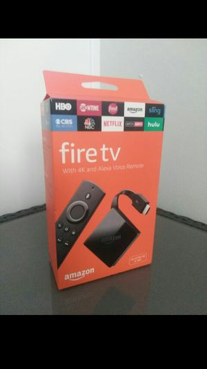 Amazon Fire TV w/ 4k for Sale in Chula Vista, CA