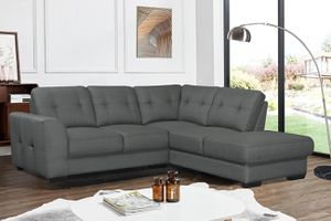 NEW CALI FABRIC SECTIONAL SOFA. GRAY. ONLY $499. NO CREDIT CHECK OR ONE YEAR DEFERRED INTEREST FINANCING AVAILABLE. for Sale in Lakeland, FL