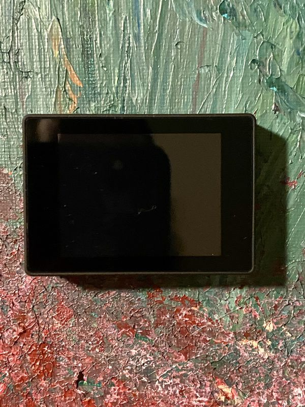LCD touch screen for GoPro cameras