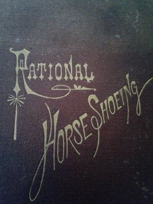 Rational Horse Shoeing 1873 1ST Edition for Sale in Lakeland, FL