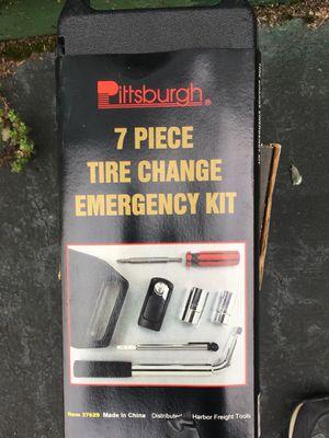 7 pc tire change kit w extendible lug wrench New unused for Sale in Hoboken, NJ
