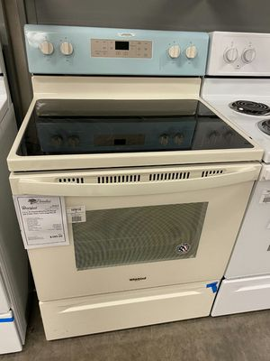 New Discounted Whirlpool Bisque Electric Stove Oven with Self Clean for Sale in Gilbert, AZ