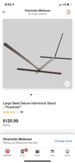 Hammock stand ( brand new ) for Sale in Charlotte, NC