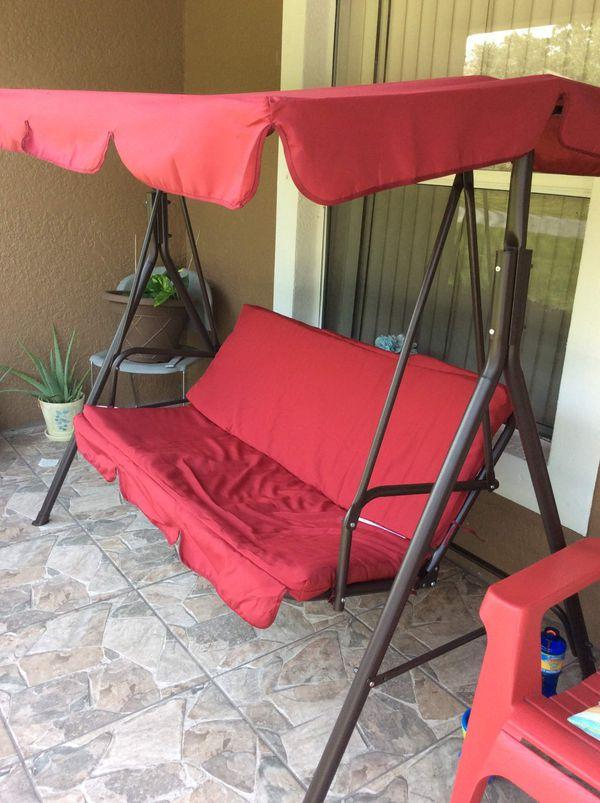 Porch swing still up for sell