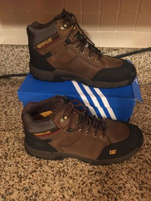 Caterpillar steel toe boots size 12 Brand new for Sale in Bell, CA
