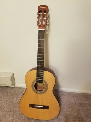 Squier by Fender Classical Acoustic Guitar for Sale in Leesburg, VA