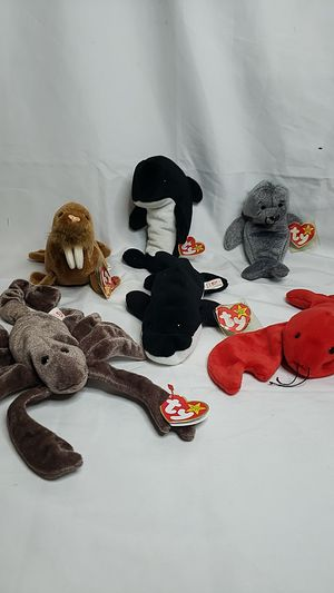 TY Beanie Babies Marine/Ocean Collection for Sale in Fort Lauderdale, FL