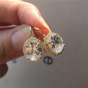 Cute Yellow Gold Earrings - Sapphire for Sale in Las Vegas, NV
