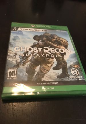Xbox One Ghost Recon Breakpoint - New Sealed for Sale in Pearland, TX