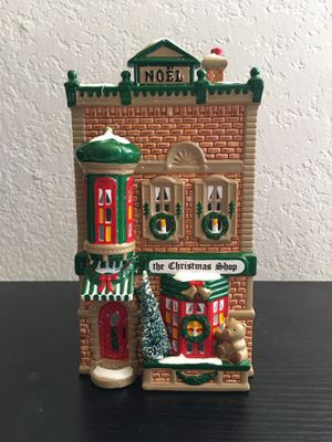 """Department 56 """"The Christmas Shop"""" (W/Lights) for Sale in La Costa, CA"""