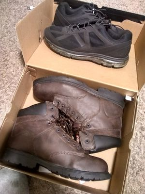 Work Boots And Shoes Both Size 11 for Sale in Raleigh, NC