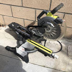 Ryobi 10in Sliding Miter Saw for Sale in Garden Grove, CA