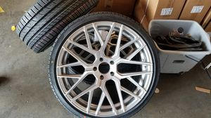 """Lexus 20"""" new euro style rims tires set for Sale in Hayward, CA"""