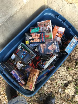 VHS tapes $1 for each one come pick out some or all for 25 for Sale in Washington, DC