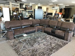 One year warranty Sectional sofa on sale @ elegant furniture 🛋🎈 for Sale in Fresno, CA