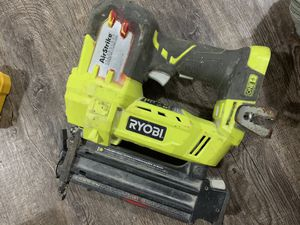 Ryobi Airstrike Nail Gun No battery for Sale in Alexandria, VA