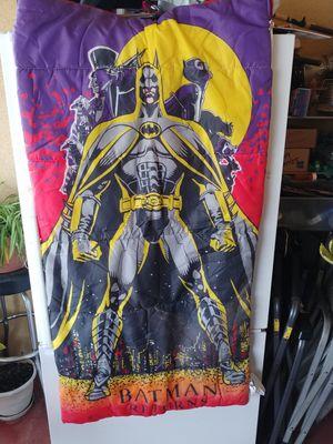 Old school Batman sleeping bag great shape for Sale in Fresno, CA