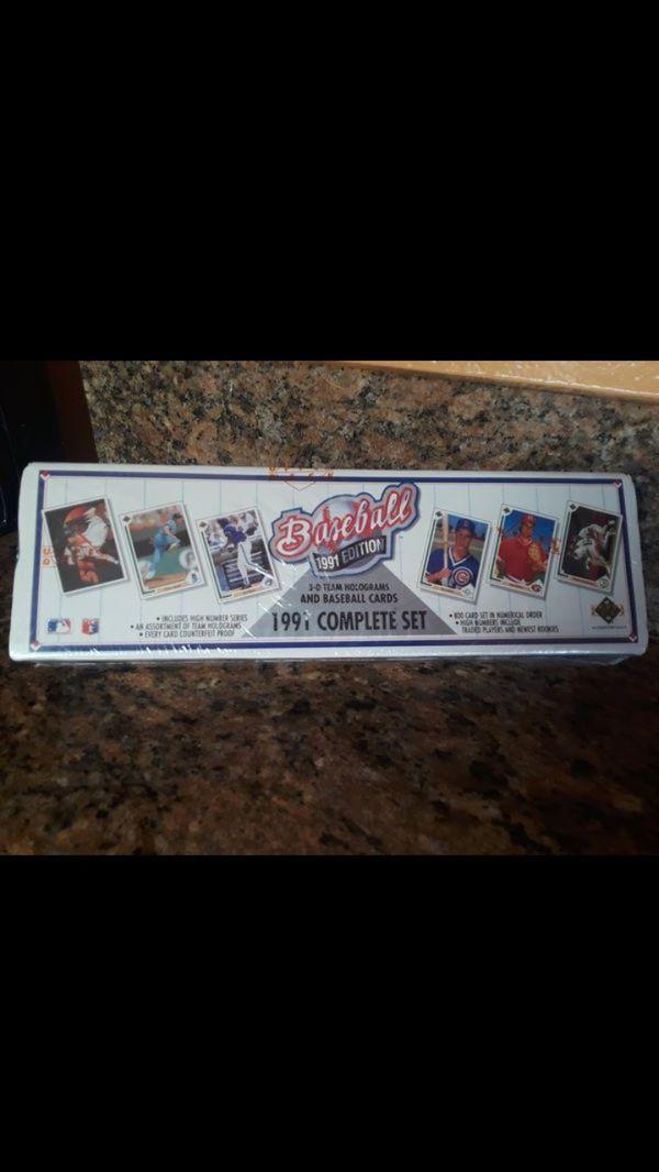 baseball 1991 Edition collection card