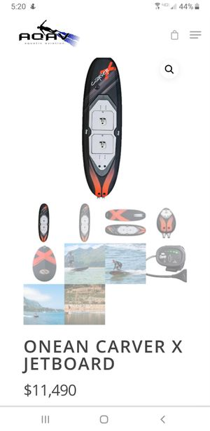 Onean Carver x Jet Board for Sale in San Diego, CA