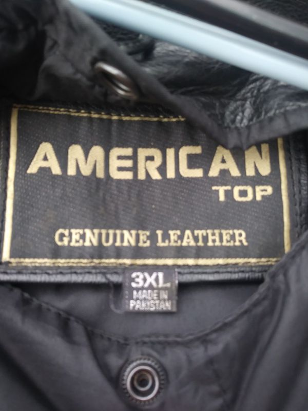 Very nice real leather jacket