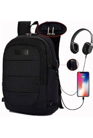 Laptop backpack, support usb charging & headphone interface for Sale in Gainesville, GA
