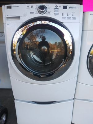 Hi-capacity set dryer+washer for Sale in Mableton, GA