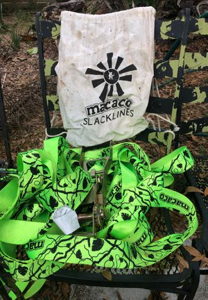 Macaco slackline for Sale in Tampa, FL